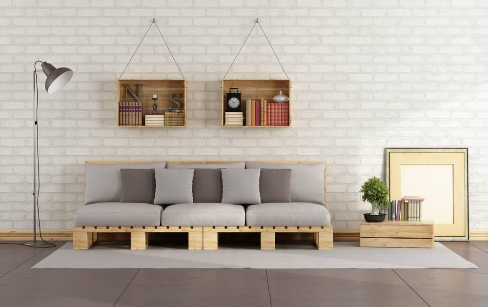 Diseñar Muebles con Pallets.