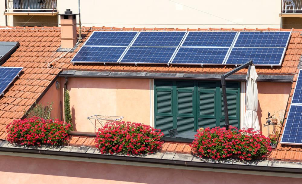 Mi casa con placas solares