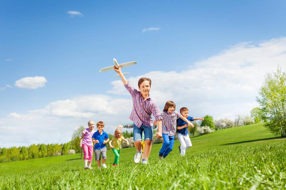 Salida al campo con niños